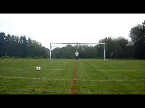 video de foot avec des effets