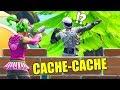 CACHE CACHE DANS LA FORÊT ! (Fortnite)