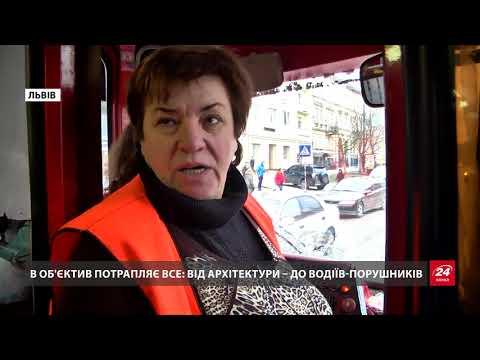 Водійка львівського трамвая стала відомим блогером