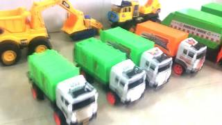Dump Truck and Recycling Truck, City Clean   Toys City Cleaner Recycling Garbage Truck Toy