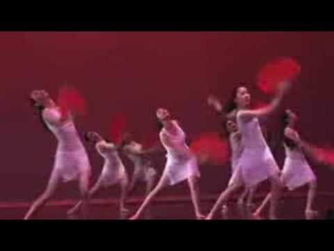 0 Chinese Art Academy Red Fan Dance