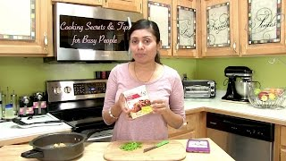 Cooking Secrets & Tips for Busy People with Pop&Cook Recipes