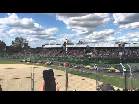 Melbourne Formula 1 GP 2016 - Slow Mo start to the race