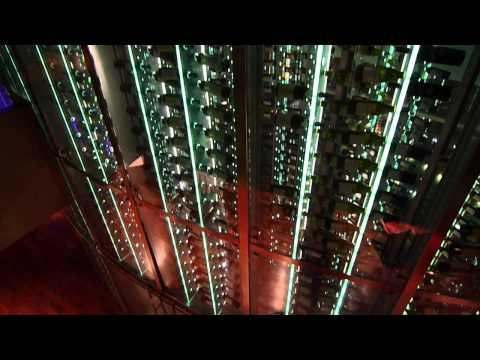 Centara Grand Hotel @ CentralWorld Bangkok 56th Floor Skybar to Wine Cellar