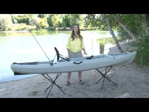 Future beach angler 160 kayak review how to save money for Cabela s advanced angler 120 trolling motor