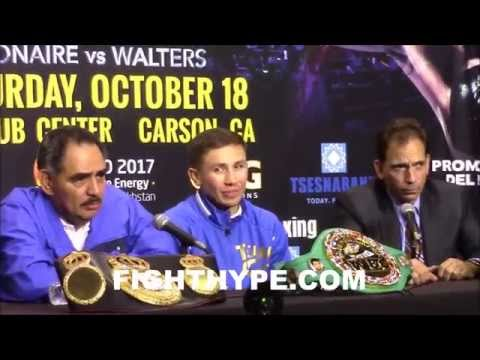GENNADY GOLOVKIN SHARES THOUGHTS ON POPULARITY WITH MEXICAN FANS IN CALIFORNIA