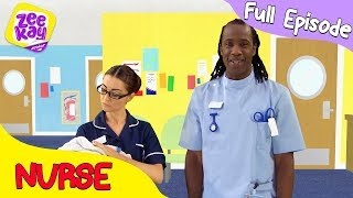 Let's Play: Nurse | FULL EPISODE | ZeeKay Junior