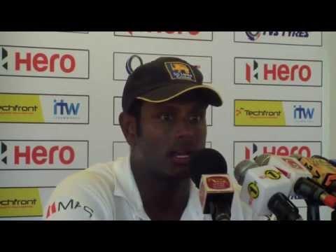 1st Test, Post Match Press Conference - Angelo Mathews and Jason Holder
