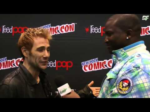 Constantine Matt Ryan New York Comic Con Interview