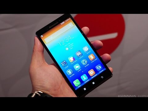 Lenovo Vibe Z First Look! [CES 2014]