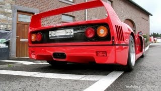 Ferrari F40 - AMAZING SOUND!