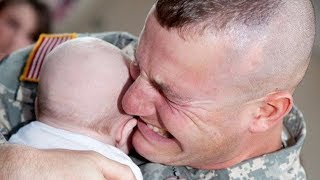 Cute Baby Reaction When Daddy Comes Home|  Funny Everyday Compilation