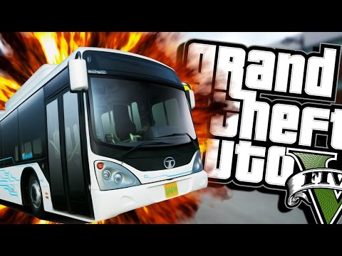 Hail To The Bus Driver (moon Gravity) | Grand Theft Auto V (next Gen Gameplay) #4 video