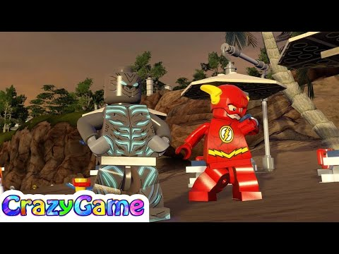 LEGO Savitar vs The Flash Free Roam - #LEGO MARVEL's Avengers MOD