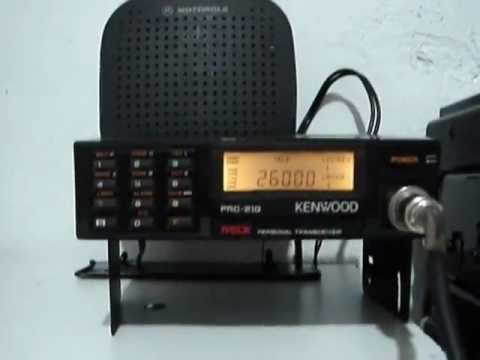 900 mhz Kenwood Personal Transceiver PRC-21G 1st test on HAM Band 33 cm 904.715 mhz part 3