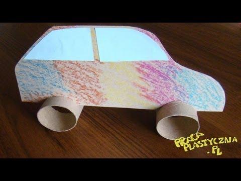 Jak Zrobić Samochód Z Rolki Po Papierze Toaletowym?