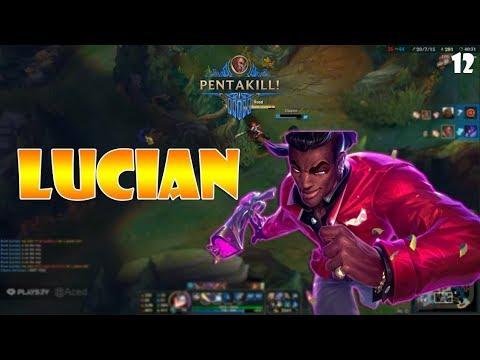 Lucian Montage 12 - Best Lucian Plays Compilation - League of Legends