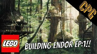 Building Endor in Lego: Episode 1-Starting a new MOC!