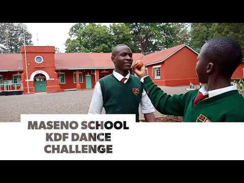 Maseno School KDF Dance Challenge