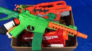 Box of Toy Guns for Kids Nerf Guns Toy Weapons Box of Toys