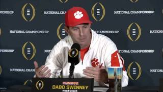 1/11: COACH SWINNEY On Alabamas Onside Kick