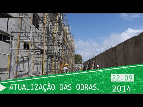 Obras do Instituto Projeto Neymar Jr - 22/09/2014