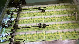 New 100 EURO banknote production
