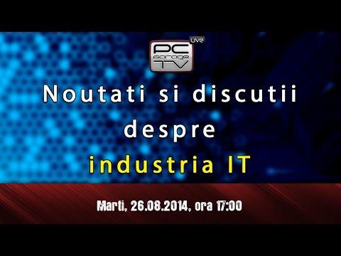 LIVE - Noutati si discutii despre industria IT