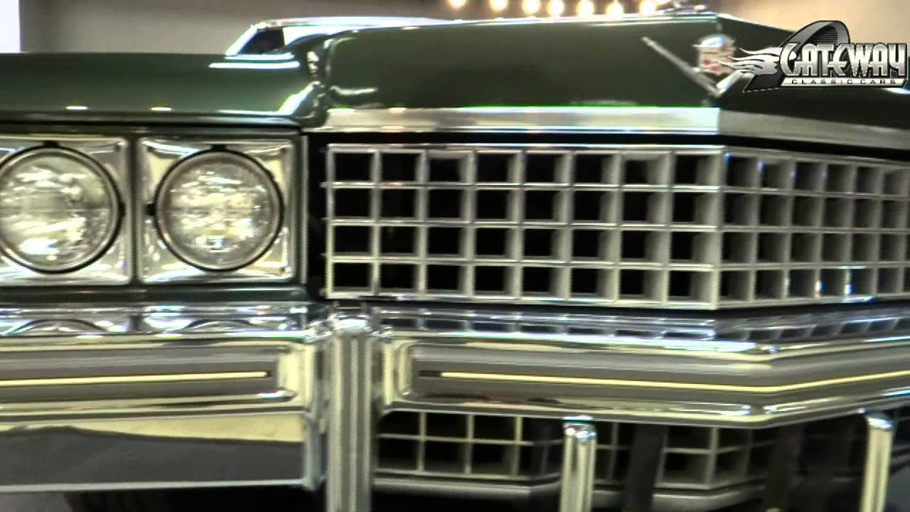 1974 Cadillac Sedan Deville For Sale At Gateway Classic