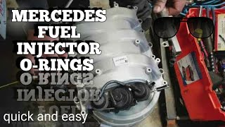 Mercedes ML350 + Others Fuel Injector O-Rings Replacement DIY