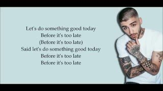 Download Lagu ZAYN -  Do Something Good (Lyrics) Gratis STAFABAND