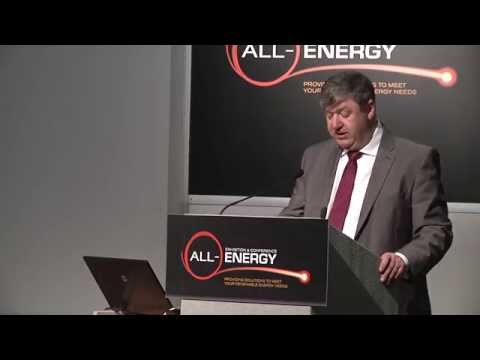 Rt Hon Alistair Carmichael MP, Secretary of State for Scotland, at All-Energy 2014 Opening Plenary