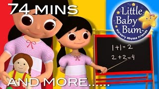 Miss Polly Had A Dolly | Plus Lots More Nursery Rhymes | 74 Minutes Compilation from LittleBabyBum!