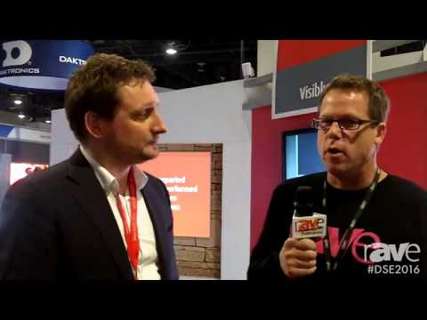 DSE 2016: Gary Kayye and Barco's Bas van Heek Talk About the R10 Digital Wallpaper