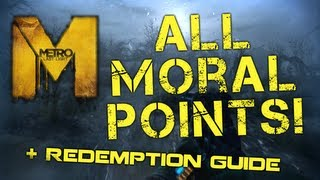 Metro: Last Light - All Moral Points and Redemption Ending Guide