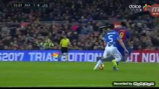 2-1 Barcelona vs Leganes 19.02.2017