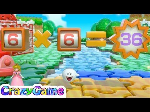 Super Mario Party Random Choice - Peach v Goomba v Rosalina v Boo | CRAZYGAMINGHUB