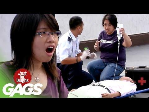 Unconscious Patient Runs Away- JFL Gags Asia Edition