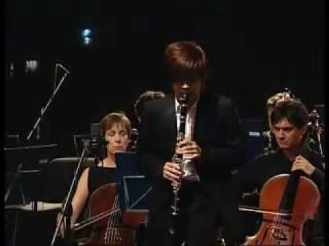 Weixiong Wang : Mozart - Concerto per clarinetto KV 622-3