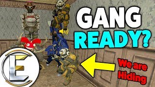 I MADE A GANG WAR! - Gmod DarkRP (I Formed A Gang Of Absolute Chaos)