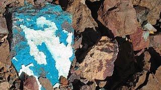Rockhounding for chrysocolla in the Arizona desert