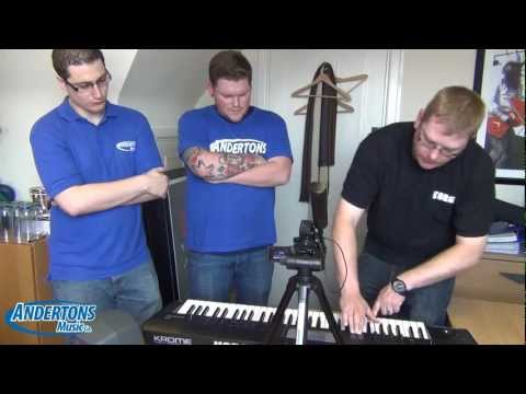 KORG KROME Workstation Keyboard WORLD EXCLUSIVE
