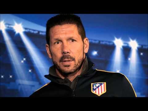 Atlético de Madrid A DIEGO PABLO  SIMEONE (Cholo). Mejor entrenador de la Liga 2014