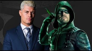 AEW Cody Rhodes Talks Football Players, Stephen Amell, AEW Backing, Booking, Goals, Experience, 2019