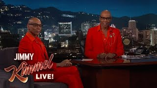 Jimmy Kimmel is One Pill Away from Becoming RuPaul