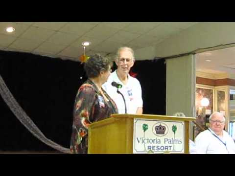 Ray and Diane Zachow at Victoria Palms RV Resort 2012 50th Wedding Anniversary