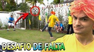 A-LIVE DA COPA - DESAFIOS DE PÊNALTI E FALTA!