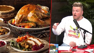 Pat McAfee's Favorite Thanksgiving Foods