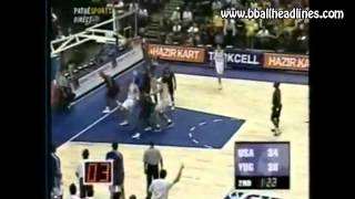 Spanoulis adds Bodiroga dribble to his arsenal