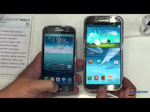 Samsung Galaxy Note II vs Samsung Galaxy S III (2)